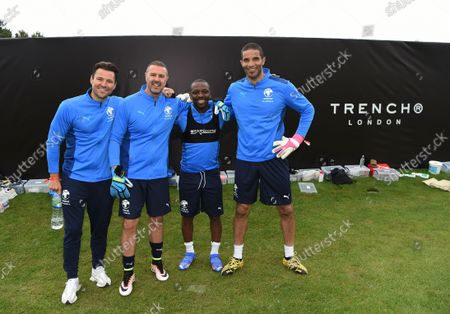Editorial image of Soccer Aid for UNICEF 2021 Training session, Day 2, Manchester, UK - 02 Sep 2021