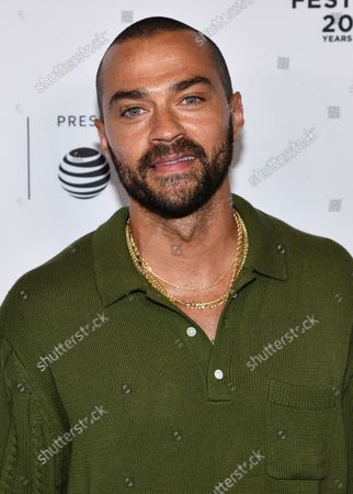 Jesse Williams attends the premiere of Dave Chappelle's untitled documentary during the closing night celebration for the 20th Tribeca Festival, in New York