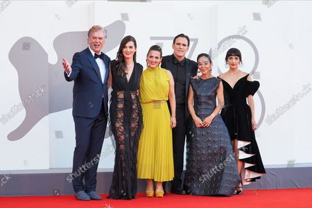Stock Picture of Christopher McDonald, Rebecca Comerford, Nicole Ansari-Cox, Matt Dillon, Shirin Neshat and Sheila Vand