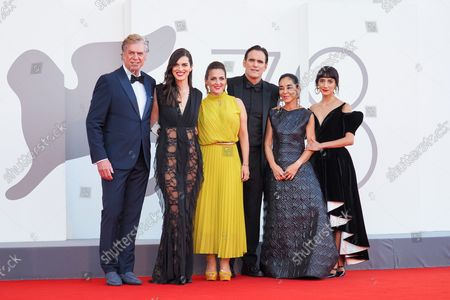 Christopher McDonald, Rebecca Comerford, Nicole Ansari-Cox, Matt Dillon, Shirin Neshat and Sheila Vand