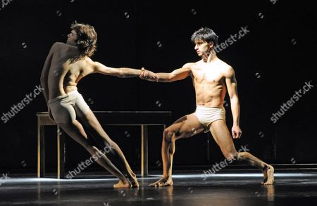 Editorial picture of Tanztheater Wuppertal Pina Bausch perform 'Iphigenie auf Tauris' at Sadlers Wells Theatre, London, Britain - 27 Oct 2010