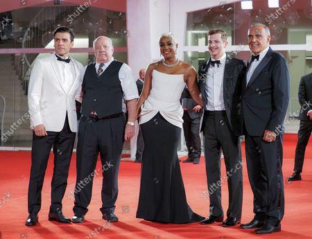 Oscar Isaac, Director Paul Schrader, Tiffany Haddish, Tye Sheridan and Alberto Barbera