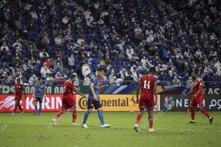 Maya Yoshida (JPN) - Football / Soccer : FIFA World Cup Qatar 2022 Asian Qualifier Final Round between Japan 0-1 Oman at Suita City Football Stadium, Osaka, Japan.