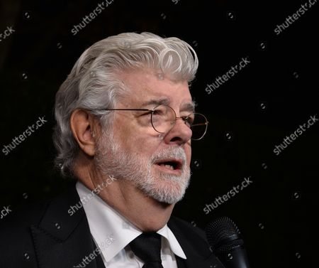 Director George Lucas attends the seventh annual LACMA Art+Film gala honoring artist Mark Bradford and Lucas at the Los Angeles County Museum of Art in Los Angeles on November 4, 2017.