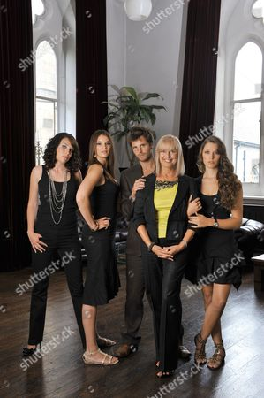 Stock Image of Jean Rogers with models