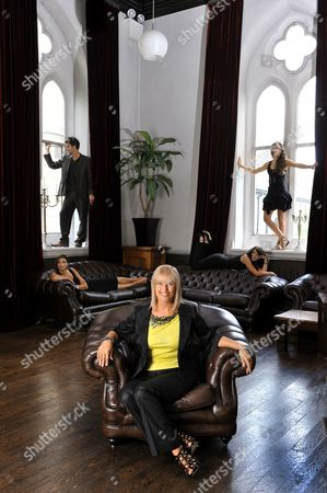 Editorial photo of Jean Rogers, head of Glenbeigh model agency, Plymouth, Devon, Britain - 08 Jul 2009
