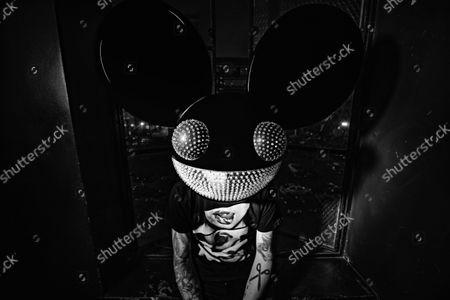 Editorial photo of Exclusive - Deadmau5 photoshoot, Los Angeles, USA - 04 Jul 2021