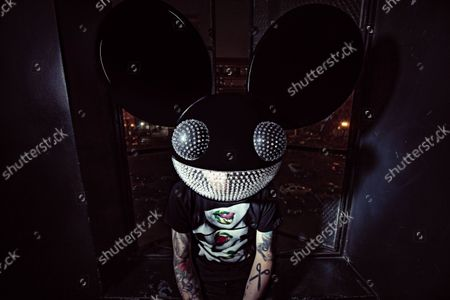 Editorial picture of Exclusive - Deadmau5 photoshoot, Los Angeles, USA - 04 Jul 2021