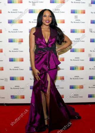 Singer Shelea Frazier arrives for the formal Artist's Dinner honoring the recipients of the 40th Annual Kennedy Center Honors hosted by United States Secretary of State Rex Tillerson at the US Department of State in Washington, D.C. on Saturday, December 2, 2017. The 2017 honorees are: American dancer and choreographer Carmen de Lavallade; Cuban American singer-songwriter and actress Gloria Estefan; American hip hop artist and entertainment icon LL COOL J; American television writer and producer Norman Lear; and American musician and record producer Lionel Richie.