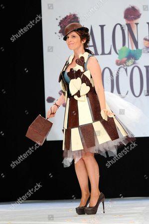 Stock Photo of Maureen Dor, Belgian TV host and actress