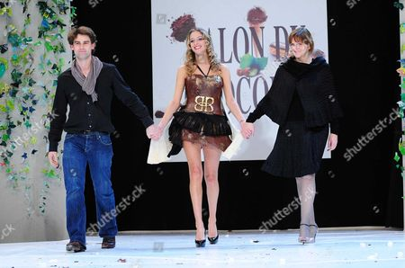 Editorial picture of Salon du Chocolat fashion show at the Porte Versailles in Paris, France - 27 Oct 2010