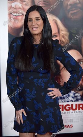 Patti Stanger attends the world premiere of 'Father Figures' at the TCL Chinese Theatre in Los Angeles on December 13, 2017.