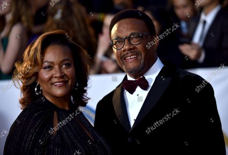 Stock Photo of Judge Mathis arrives for the 49th NAACP Image Awards at the Pasadena Civic Auditorium in Pasadena, California on January 15, 2018. The NAACP Image Awards celebrates the accomplishments of people of color in the fields of television, music, literature and film and also honors individuals or groups who promote social justice through creative endeavors.
