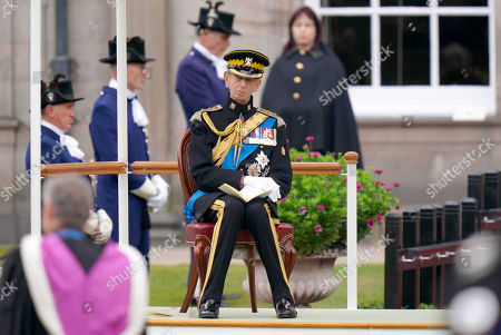 Editorial picture of Royal Scots Dragoon Guards 50th anniversary, Palace of Holyroodhouse, Edinburgh, Scotland, UK - 03 Sep 2021