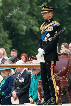 Editorial photo of Royal Scots Dragoon Guards 50th anniversary, Palace of Holyroodhouse, Edinburgh, Scotland, UK - 03 Sep 2021