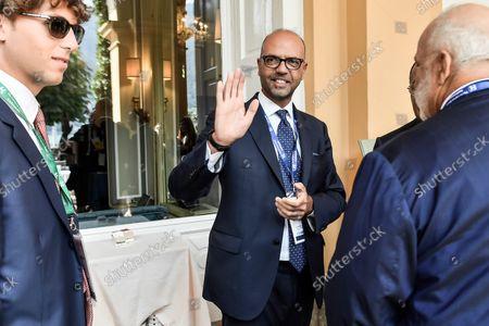 Stock Photo of Angelino Alfano during the 47th edition of the annual Ambrosetti Forum at Villa d'Este in Cernobbio