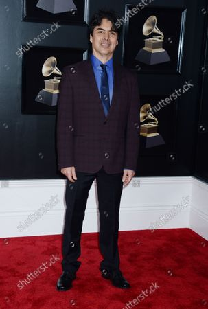 Editorial photo of Randy Porter arrives at 60th Annual Grammy Awards in New York, United States - 28 Jan 2018