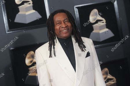 Jimmy Douglass arrives on the red carpet at the 60th Annual Grammy Awards ceremony at Madison Square Garden in New York City on January 28, 2018. The CBS network will broadcast the show live from Madison Square Garden in New York City. It will be the first time since 2003 that the ceremony will not be held in Los Angeles.
