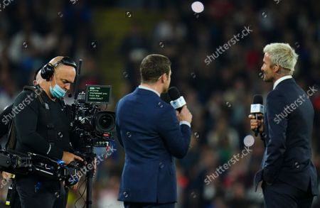 Editorial image of England XI v World XI, Soccer Aid for Unicef 2021, Football, Old Trafford, Manchester, UK - 04 Sep 2021