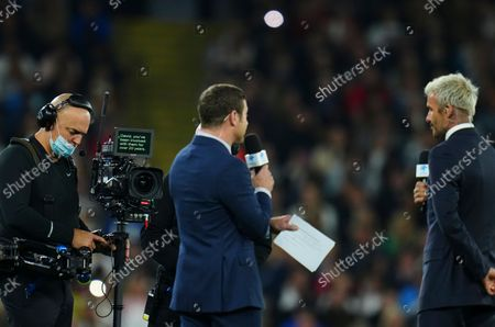 Editorial photo of England XI v World XI, Soccer Aid for Unicef 2021, Football, Old Trafford, Manchester, UK - 04 Sep 2021