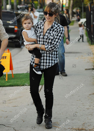 Editorial picture of Cam Gigandet and family at Mr Bones Pumpkin Patch, Los Angeles, America - 27 Oct 2010