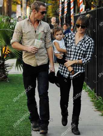 Editorial image of Cam Gigandet and family at Mr Bones Pumpkin Patch, Los Angeles, America - 27 Oct 2010