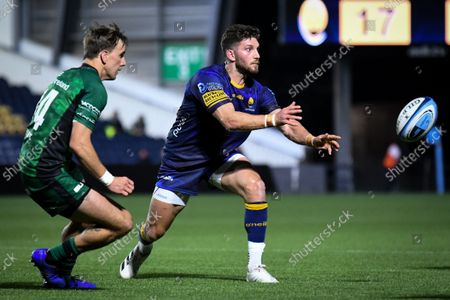 Editorial picture of Worcester Warriors v Connacht Rugby, UK - 03 Sep 2021