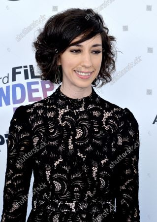 Producer/Director Lana Wilson attends the 33rd annual Film Independent Spirit Awards in Santa Monica, California on March 3, 2018.
