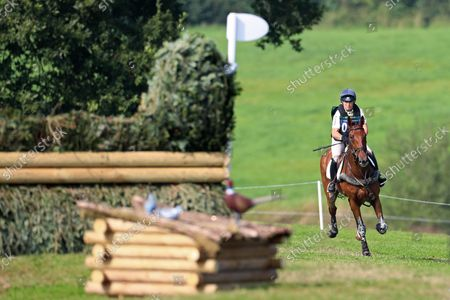 Pippa Funnell riding Billy Walk On; Bicton Park, East Budleigh Salterton, Budleigh Salterton, United Kingdom: Bicton CCI 5* Equestrian Event.