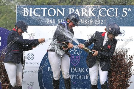 Editorial image of Bicton 5 Equestrian, Devon, UK - 05 Sep 2021