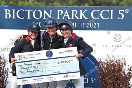 Editorial photo of Bicton 5 Equestrian, Devon, UK - 05 Sep 2021