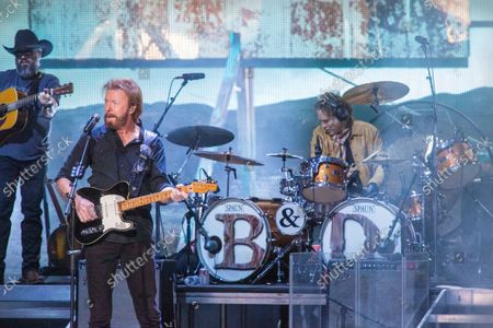 Editorial picture of Brooks & Dunn in concert at Ruoff Music Center in Noblesville, Indiana, USA - 02 Sep 2021