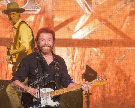 Editorial image of Brooks & Dunn in concert at Ruoff Music Center in Noblesville, Indiana, USA - 02 Sep 2021