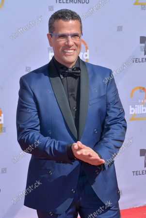 Stock Image of TV personality Marco Antonio Regil attends the 2018 Billboard Latin Music Awards at the Mandalay Bay Events Center in Las Vegas, Nevada on April 26, 2018.