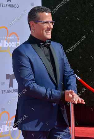 TV personality Marco Antonio Regil attends the 2018 Billboard Latin Music Awards at the Mandalay Bay Events Center in Las Vegas, Nevada on April 26, 2018.
