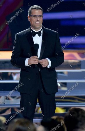 Marco Antonio Regil speaks onstage during the 2018 Billboard Latin Music Awards at the Mandalay Bay Events Center in Las Vegas, Nevada on April 26, 2018.