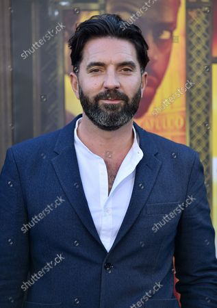 Director/writer Drew Pearce attends the premiere of 'Hotel Artemis' at the Regency Bruin Theatre in Los Angeles, California on May 19, 2018.