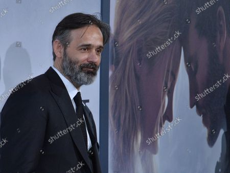 """Director Baltasar Kormakur attends the premiere of his new motion picture romantic thriller """"Adrift"""" at the Real Cinema LA Live in Los Angeles on May 23, 2018. Storyline: Based on the true story of survival, a young couple's chance encounter leads them first to love, and then on the adventure of a lifetime as they face one of the most catastrophic hurricanes in recorded history."""