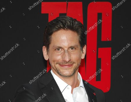"""Director Jeff Tomsic attends the premiere of the motion picture comedy """"Tag"""" at the Regency Village Theatre in the Westwood section of Los Angeles on June 7, 2018. Based on a true story, the film follows a small group of former classmates who organize an elaborate, annual game of tag that requires some to travel all over the country."""