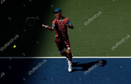 Editorial picture of US Open Championships 2021, Day Six, USTA National Tennis Center, Flushing Meadows, New York, USA - 04 Sep 2021