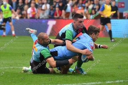 Editorial image of Harlequins v Cardiff Rugby - Preseason Friendly - 04 Sep 2021