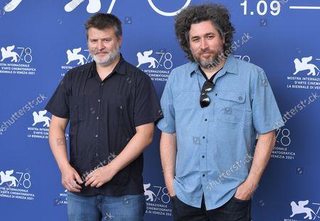 Stock Image of Mariano Cohn and Gaston Duprat