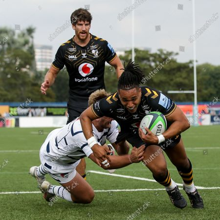 Editorial picture of Coventry Rugby v Wasps, UK - 04 Sep 2021