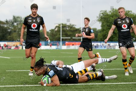 Editorial image of Coventry Rugby v Wasps, UK - 04 Sep 2021