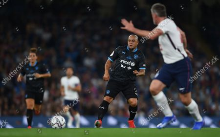 Roberto Carlos of World XI during the Soccer Aid for UNICEF 2021 match