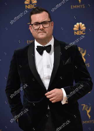 Actor Kristian Bruun attends the 70th annual Primetime Emmy Awards at the Microsoft Theater in downtown Los Angeles on September 17, 2018.