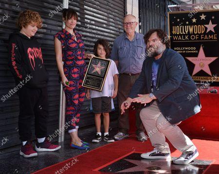 Editorial photo of Jack Black Fame Walk, Los Angeles, California, United States - 18 Sep 2018