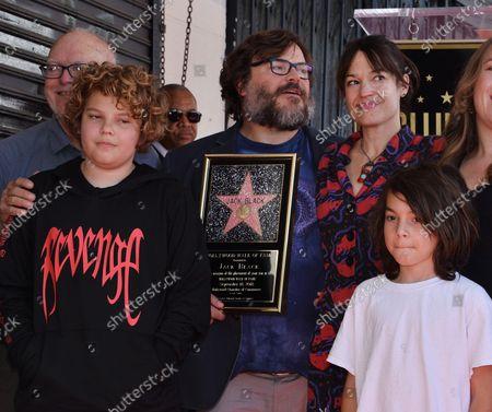 Editorial image of Jack Black Fame Walk, Los Angeles, California, United States - 18 Sep 2018