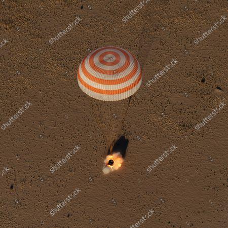 Editorial picture of Expedition 56 Soyuz MS-08 Landing, Zhezkazgan, Kazakhstan - 04 Oct 2018