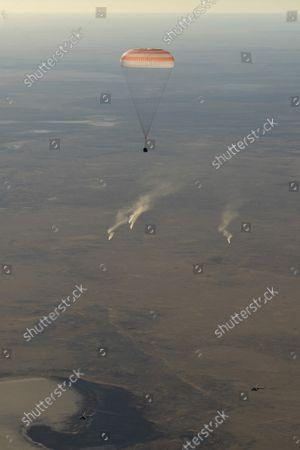 Editorial image of Expedition 56 Soyuz MS-08 Landing, Zhezkazgan, Kazakhstan - 04 Oct 2018